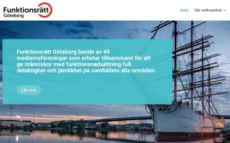 Hej Väst-medlem! Nu är du medlem i Funktionsrätt Göteborg.