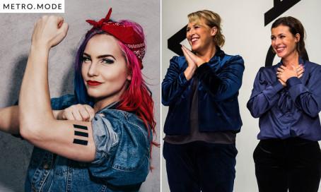 Metro Modes succé-podd WomanUp! får en säsong 2 – Linnea Claesson och Hannah & Amanda gästar