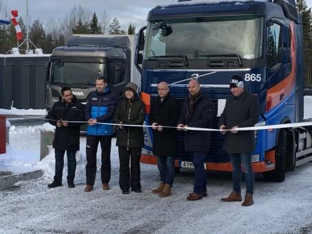 Biogas på plats i Umeå
