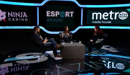 Female Legends gästar Metros webb-tv koncept, Esport Magazine!