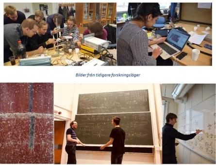 Är det möjligt att bedriva forskning inom fysik redan när man går på gymnasiet?