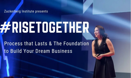 Swedish Wealth Institute och Randi Zuckerberg presenterar - #RiseTogether