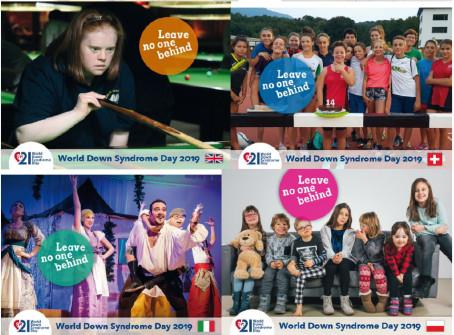 Hela Europa dansade på Världsdagen för Downs syndrom och laddar nu för European Youth Week i Bryssel