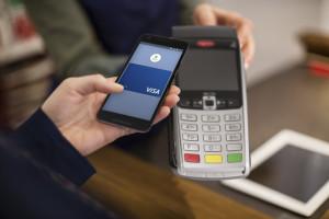 Bezahlen mit Visa Karte via Android Pay