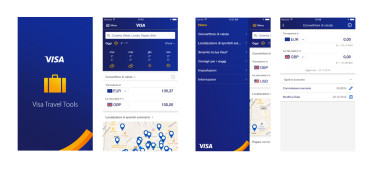 Visa Travel Tools App – Mit Visa ist Reisen ein Kinderspiel