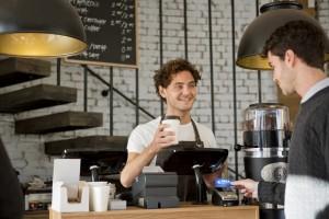 Visa Europe: Kontaktloses Bezahlen im Café