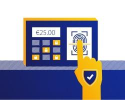Europeanen vertrouwen op banken voor toekomstige biometrische authenticatie betalingen