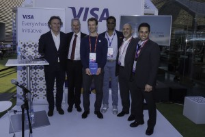 Visa beim Mobile World Congress 2017