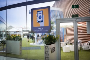 Visa beim Mobile World Congress 2017