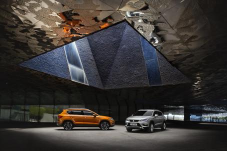 International pris til det spanske mærke - SEAT Ateca er blevet kronet i Europa