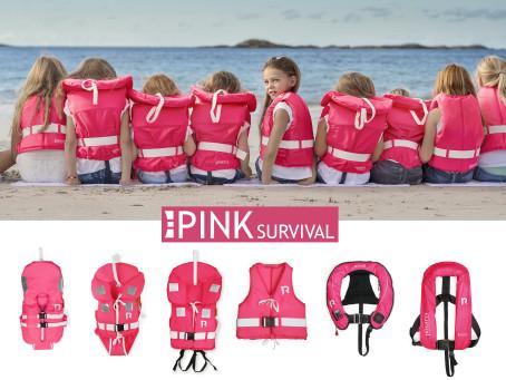 Bild med länk till pressrelease Regatta Pink Survival - ny serie rosa flytvästar