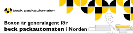 Boxon ny generalagent för beck packautomaten GmbH & Co. KG