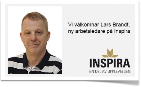 Lars Brandt ny Arbetsledare på Inspira