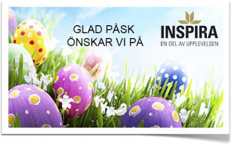 Glad Påsk önskar vi på Inspira
