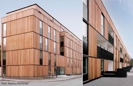 Christian Berner AB är leverantör till årets byggnad i Stockholm