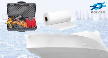 Bild med länk till pressrelease Krympplast - Boat Wrapping från Poly-Produkter