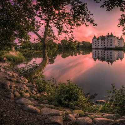 Slottet Glücksburg: Europeiske kongehus' vugge