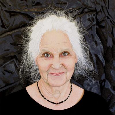 Textilkonstnären Malin Lager ställer ut på Västanå Teater