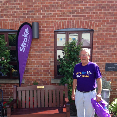 Worcester fundraiser unveils bench in memory of wife