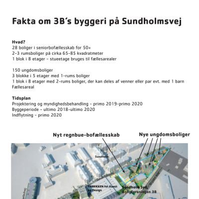 Fakta om byggeriet på Sundholmsvej 6