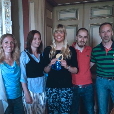 Inspirerad av en OS-medaljör