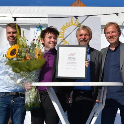 Viralgranskaren vinner Sociala medier-priset på 100 000 kronor