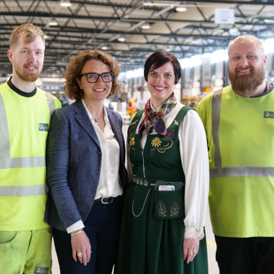 Posten åpnet nytt logistikksenter for Stavanger-regionen