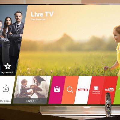 LG INTRODUSERER EN NY VERSJON AV DEN BEJUBLEDE SMART-TV-PLATTFORMEN WEBOS UNDER CES 2016