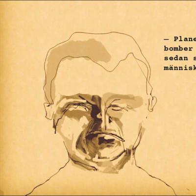 Wisti-satir på Arbetets museum i höst