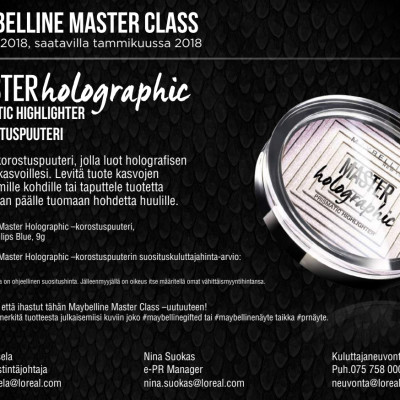 Maybelline MasterClass Holographic Highlighter