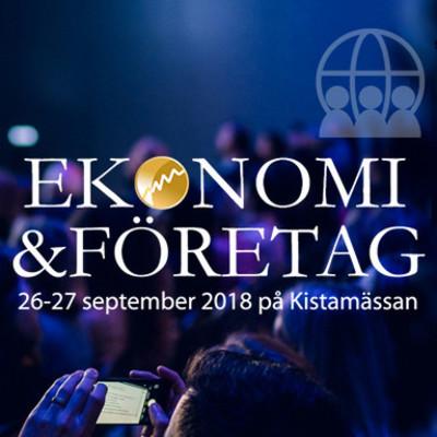Ekonomi & Företag 26-27 september på Kistamässan