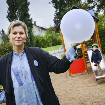 Prinsparken blir lysande cirkus under Barnens Lights