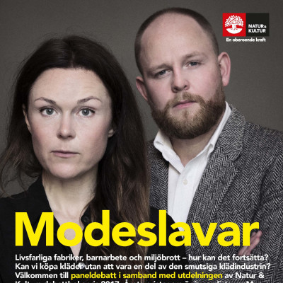 Modeslavar annons Almedalen