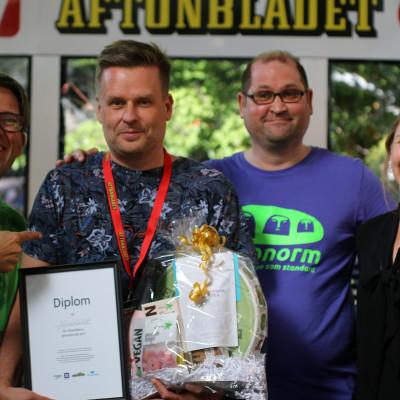 Almedalens grönaste käk finns hos Aftonbladet