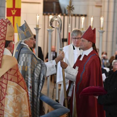 Svenska kyrkan har fått en ny biskop: Sören Dalevi
