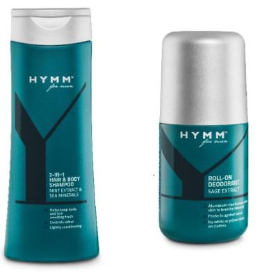 Produkter til sportstasken i den nye herreserie HYMM™