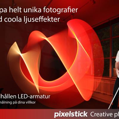 Ljusmåla dina bilder med Pixelstick!