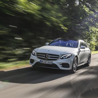 Salgsstart for nye Mercedes-Benz E-Klasse plug-in hybrid
