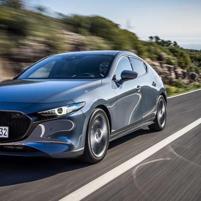 Nye Mazda3 oppnår 5 stjerner i Euro NCAP