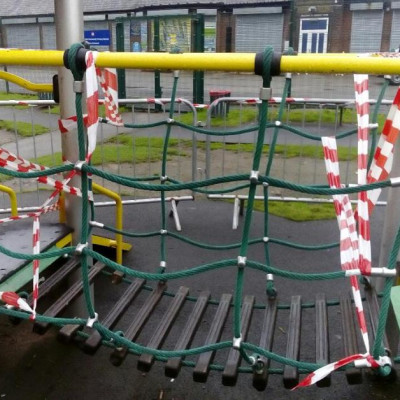 Vandals spoil local play area