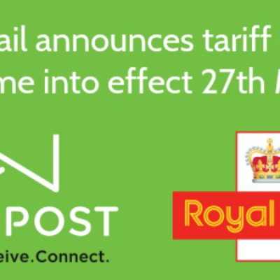 Royal Mail announces tariff changes to come into effect 27th March