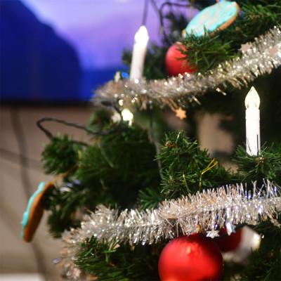 Nå tennes julelysene, og dermed øker brannfaren!