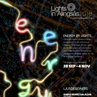 Theme and trail set for Lights in Alingsås 2018!