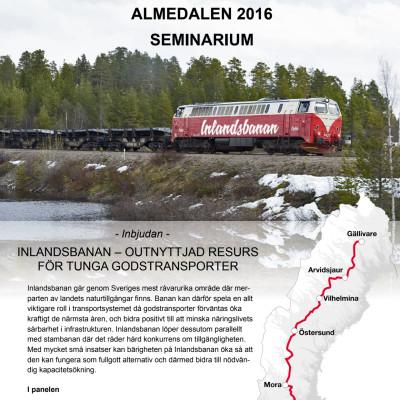 Inlandsbanan - outnyttjad resurs för tunga godstransporter