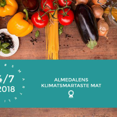 Vem har Almedalens klimatsmartaste mat?