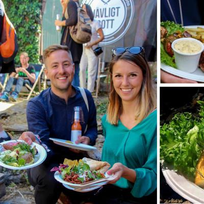 Succé för Restaurang Jävligt Gott! Almedalens klimatsmartaste mat och One Planet Plate märkning.