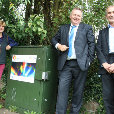 Rural champion celebrates arrival of Superfast Staffordshire at its Midlands headquarters