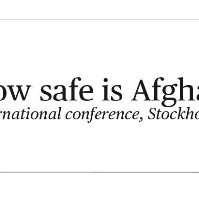 "Lyckad konferens ""How safe is Afghanistan?"" 4 oktober 2018"
