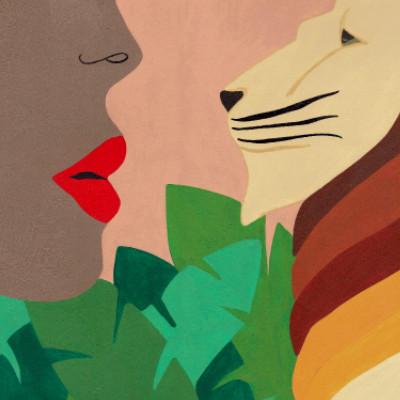 Konstnärligt samarbete med kvinnligt förtecken