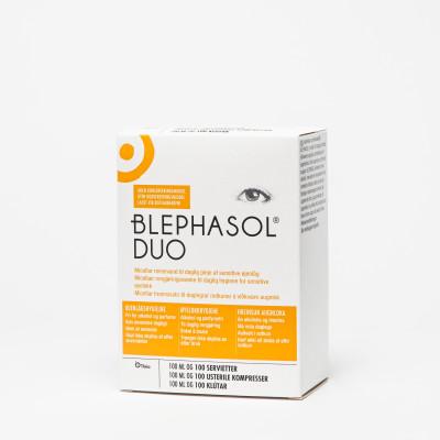 Blephasol Duo – micellær sminkefjerner for tørre øyne og sensitive øyelokk